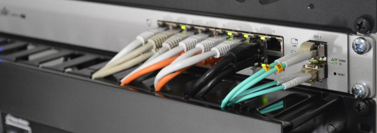 Hosting op  een superieur netwerk